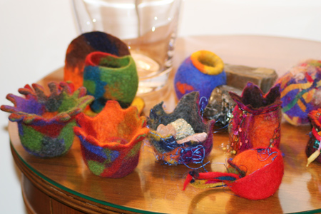 Little felt vessels