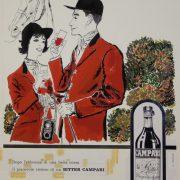 Campari poster, circa 1960