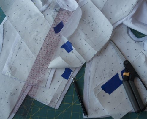 Pattern drafting materials