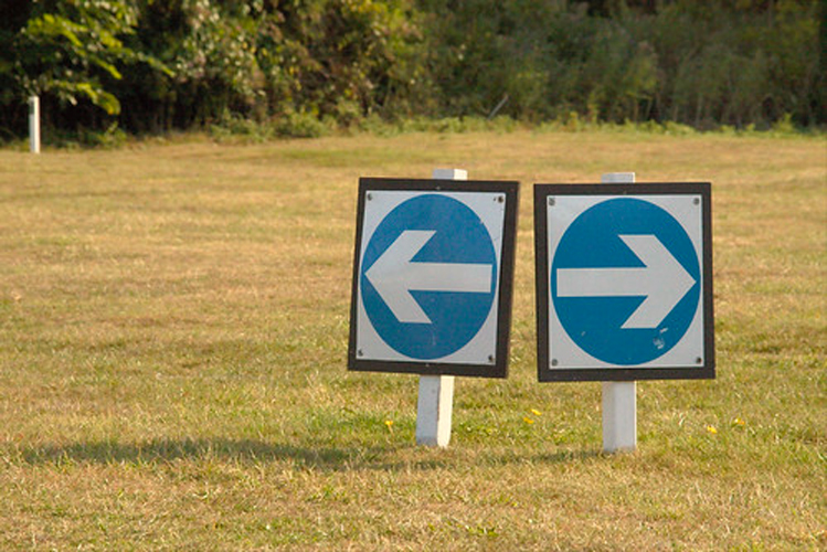 Left and Right Arrows