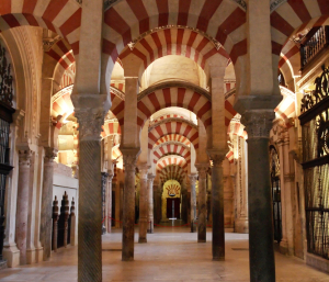 Pillars and columns of Cordoba Mosque